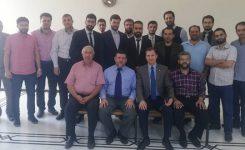 الخريجون والمحامون يزورون جامعة بلاد الشام مجمع الشيخ أحمد كفتارو